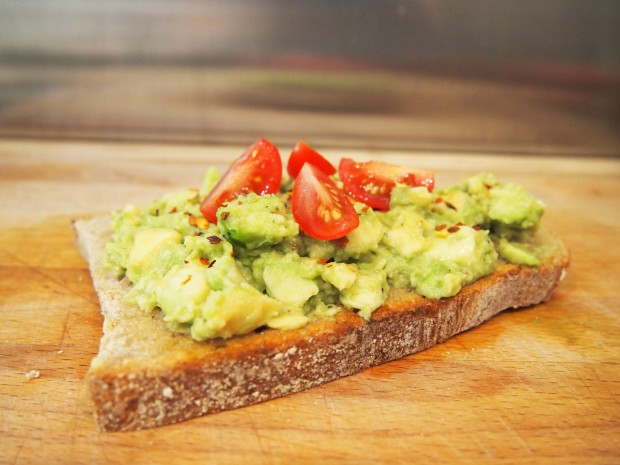 Quick and Easy Smashed Avocado Toast
