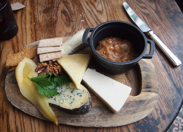 The Pig Brockenhurst Cheese Board