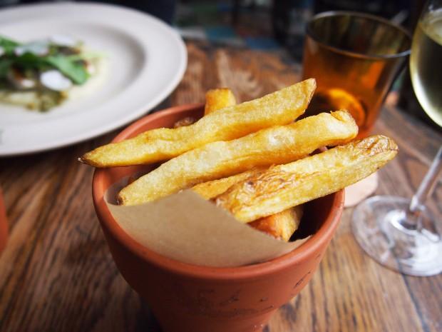 The Pig Brockenhurst Thrice Cooked Chips