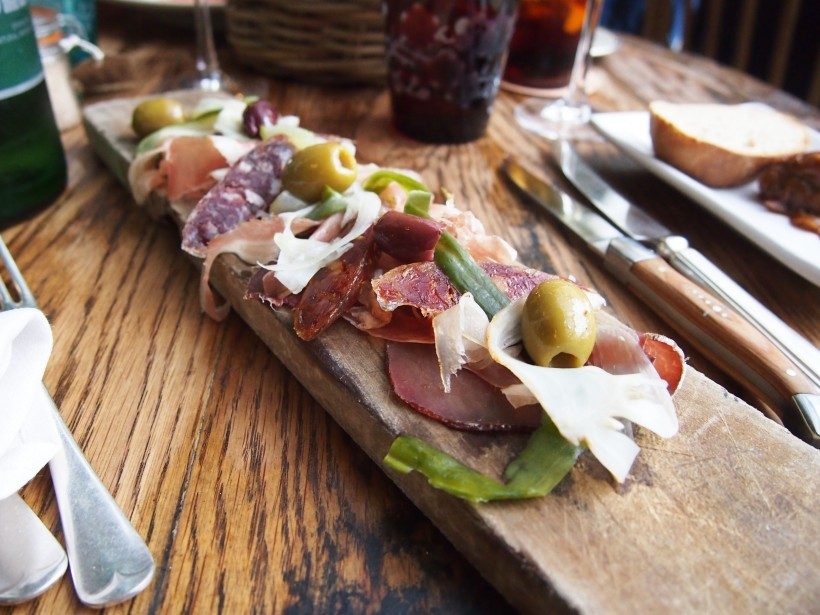 The Pig Brockenhurst Cured Meats Board
