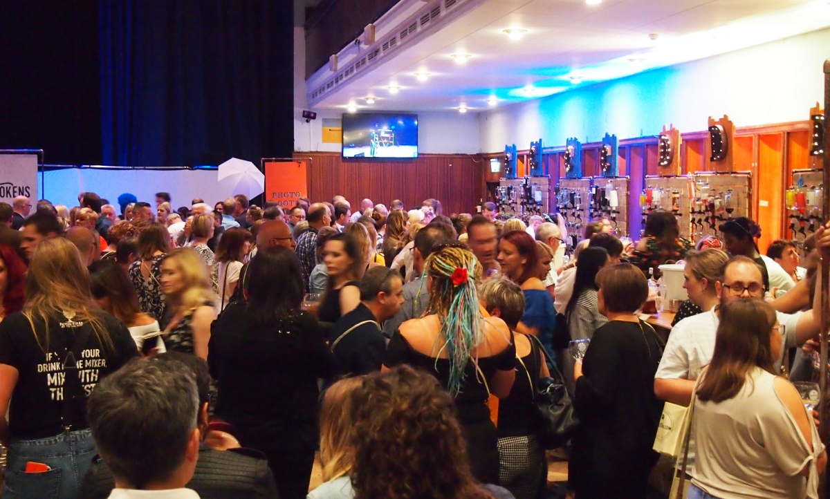Gin Festival Portsmouth Crowds 2