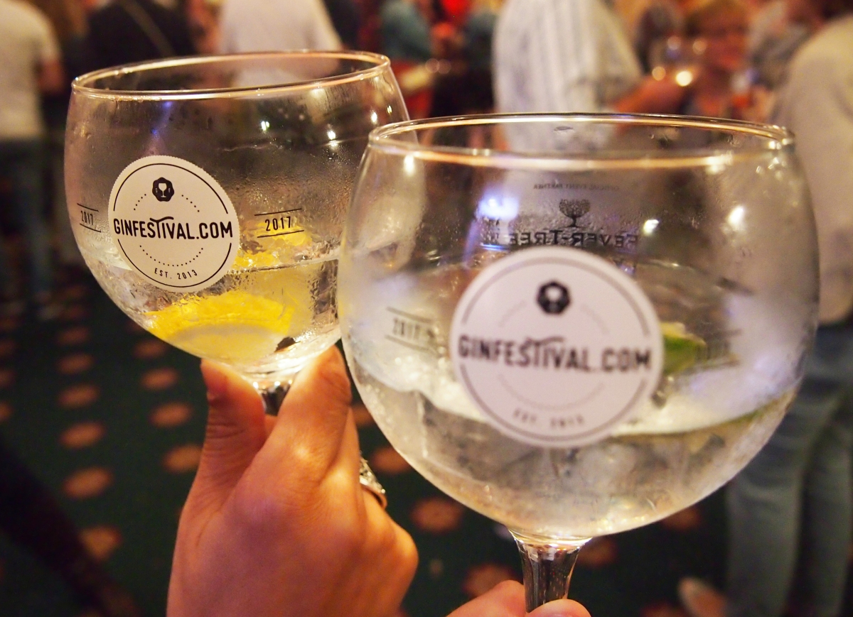 Gin Festival Portsmouth Glasses